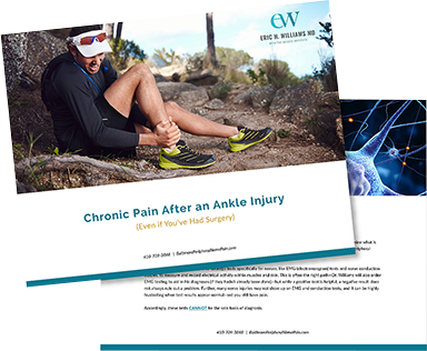 Chronic Pain After an Ankle Injury