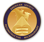 Logo Recognizing Dr. Eric H. Williams's affiliation with American Society for Reconstructive Microsurgery